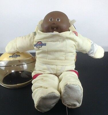 Vintage Cabbage Patch Kids Young Astronaut African American Doll