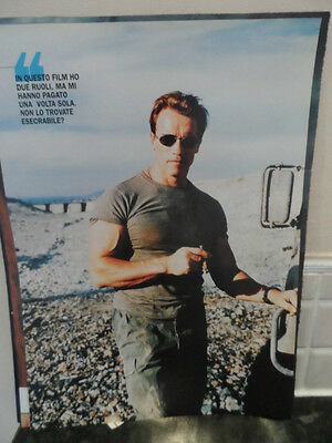 Arnold SCHWARZENEGGER, A4 Laminated Image, picture from magazine, L@@K!