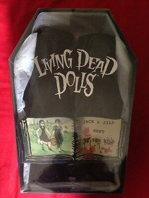Living Dead Dolls Exclusive Rare Jack And Jill Sealed New (Nuovo)