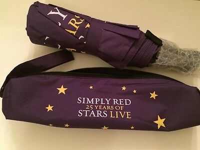 Simply Red Vip Gift Umbrella 25 Years Of Stars Live Tour Brand New