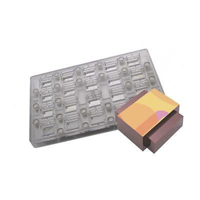 Fat Daddios Chocolate Mould - Magnetic - Rectangle - Deco