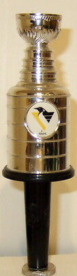 Pittsburgh Penguin Stamley Cup Beer Tap Handle