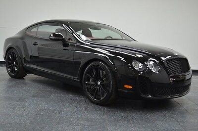 2010 Bentley Continental GT Supersports Coupe Carbon Fiber Carbon Ceramic 29K! 2010 Bentley Continental Supersports Coupe, Carbon Fiber, Carbon Ceramic, 29K!
