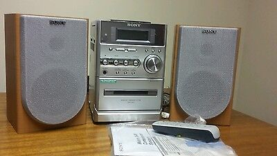 Sony micro stereo radio cd cassette