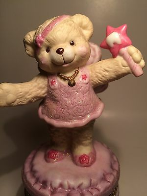 Toothbeary Wishes - Tooth Fairy Ltd Edition Covered Box Teddy Bear Parade