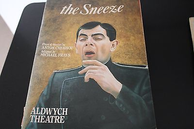 ROWAN ATKINSON, TIMOTHY WEST, CHERYL CAMPBELL in THE SNEEZE - 1988