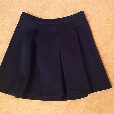 Abercrombie Kids Navy Skater Skirt size small age 10 years