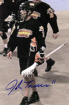 John Tavares Buffalo Bandits National Lacrosse League Autographed Signed Photo