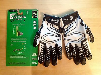 Cutters S250 REV American Football Glove, XL