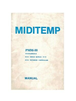 Miditemp Pmm-883 Manuale In Inglese