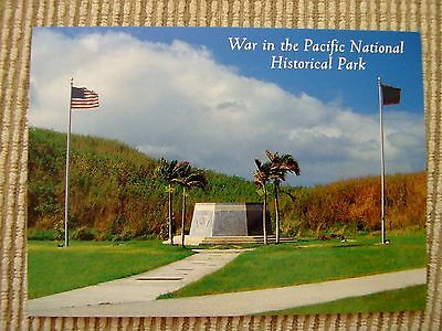 WAR IN THE PACIFIC NATIONAL PARK CENTENNIAL  WWII Guam pstcrd Army Marines Japan
