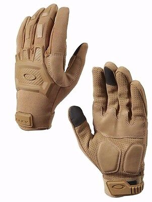 Oakley Men's SI Standard Issue Flexion Gloves (Coyote) NWT