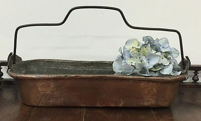 Christmas Gift Rare French Antique Large Copper Fish Cooker or Daubiere - K140