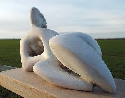 Maquette based on HENRY MOORE's Reclining Figure: Curved of 1976.