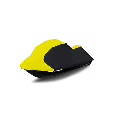 Sea Doo JetSki Spark 2Up 900 ACE H.O. Trailerable Jet Ski PWC Cover Yellow/blk