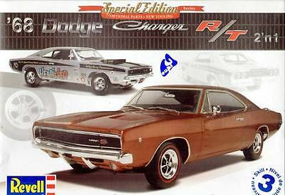 Revell 1:25 '68 Dodge Charger R/T 2'n1