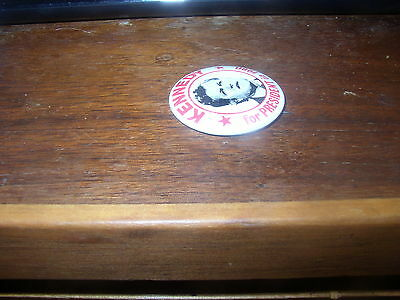 Senator Ted Kennedy-1980 Presidential Election Campaign Button / Pinback