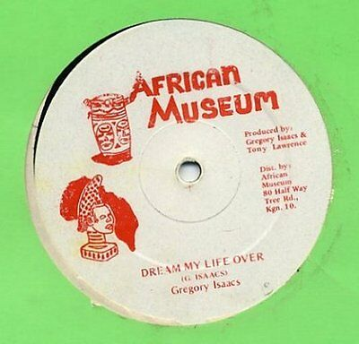 """Gregory Isaacs Dream My Life Over Reggae 12"""""""