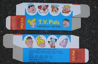 TV Pal Vending Machine box PEZ new old stock cartoon characters
