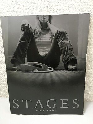 Britney Spears Stages Photo W/dvd+Poster Book