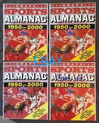 Back to the Future 2 pre print movie prop photo Grays Sports Almanac PP Biff