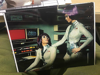 UFO Girls 7 x 5 colour Photo Gerry Anderson Lt Gay Ellis & Joan Harrington