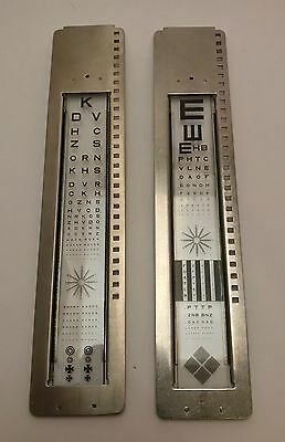 Medical 1930's American Optical Project-O-Chart Slides and Box