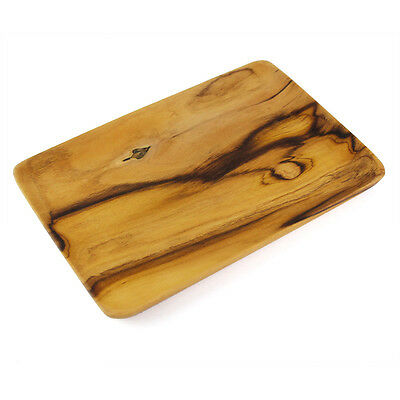 Handmade Wooden Utensil - New Natural Teak Wood Serving Tray Unique Wood Pattern