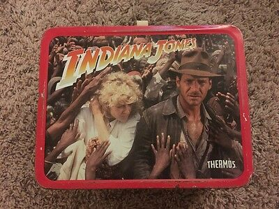 Indiana Jones Lunchbox  1984 - No Thermos
