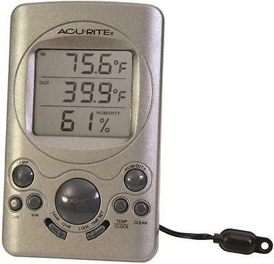 Chaney AcuRite 00891SBCA/00219CA DIGITAL THERMOMETER LCD humidity weather