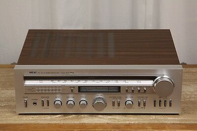 Vintage Akai AA-R50 Vintage AM/FM Stereo Receiver Working Condition