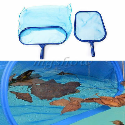 Duty Swimming Pool Tool Deep Leaf Skimmer Net For Koi Ponds Spa Hot Tub Home TOP