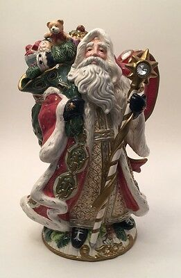 Beautiful Fitz and Floyd Classic Santa Teapot - Florentine Collection