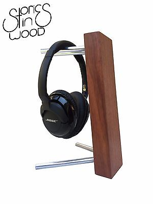 Headphone Stand - Stories In Wood