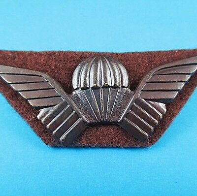 SCARCE RHODESIA SELOUS SCOUTS No 0700 SPECIAL FORCES AIRBORNE PARACHUTE WINGS