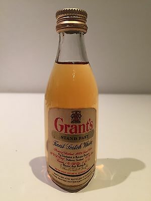 Grants Stand Fast Scotch Whisky Rare Circa Late 1960's Miniature