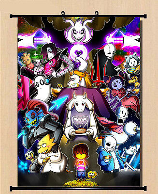 Home Decor Poster Wall Scroll Undertale Sans/Papyrus Skeleton Brother 66