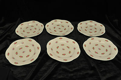 Shelley Fine Bone China Rosebud 13426  6 x side plates in very good condition