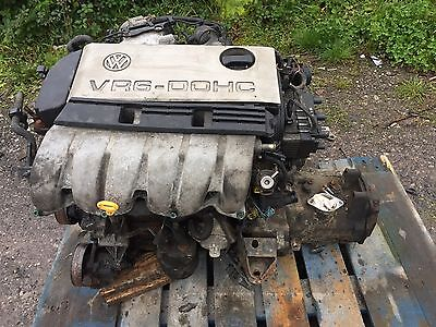 Volkswagen (Vw) Golf Vr6 Engine And Manual Gearbox