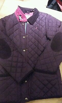 Joules Girls Quilted Coat
