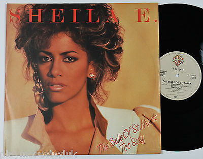 """SHEILA E / PRINCE The Belle Of St Mark 12"""" UK 1984 Warners W9180T  plays EX!"""
