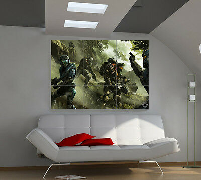 HALO Reach large giant games poster print photo mural wall art ii263