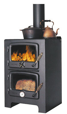 Wood burning cooker and stove, Nectre Bakers oven