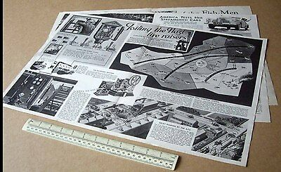 Fire Fighting During the Blitz Home Guard Training Chart 1940 Modern World #40