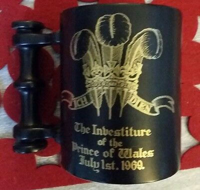 PORTMEIRION MUG: PRINCE OF WALES INVESTITURE JULY 1ST 1969 BY John Cuffley.