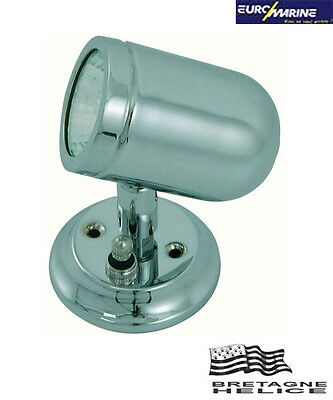 Applique Orientable Laiton Chrome 20W 12V Euromarine 001428