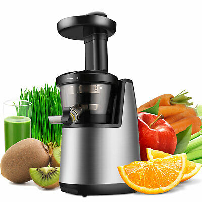 Cold Press Juicer Machine Masticating Slow Juice Extractor Maker Fruit Vegetable