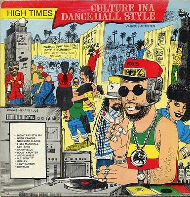 Culture In A Dance Hall Style Various Artists Reggae LP
