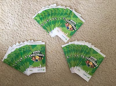 31 Woolworths World Explorers Cards New And Unopened