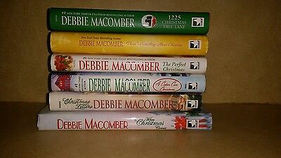 Lot of 6 Debbie Macomber Christmas Hardcover Books Excellent Cond -See Titles